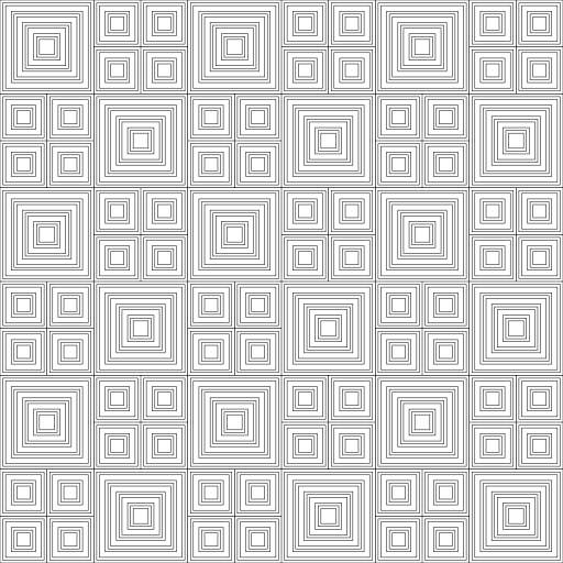Grid of rectangles  https://twitter.com/mknol