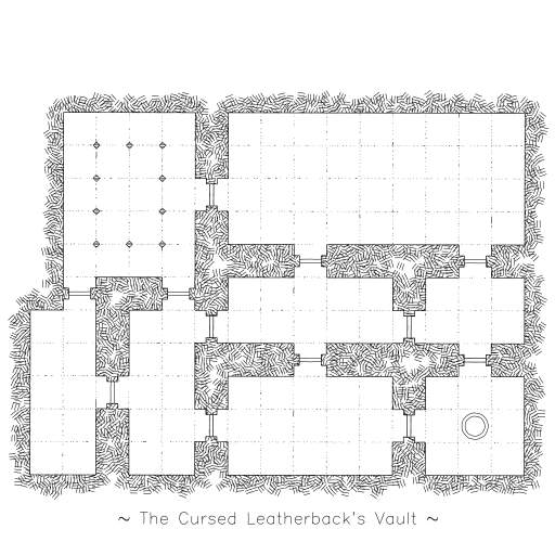 A small and simple Dungeon generator. The algorithm used to generate the structure is far from perfect: you will find a lot of hidden (=not connected) rooms.  Better procedural dungeons can be found here: https://watabou.itch.io/one-page-dungeon  Change the seed-value for other randomly generated dungeons.  #procedural #hatching