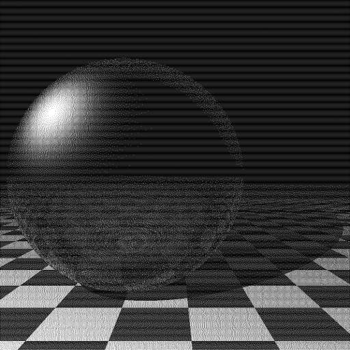 FSD Raytraced Glass Sphere