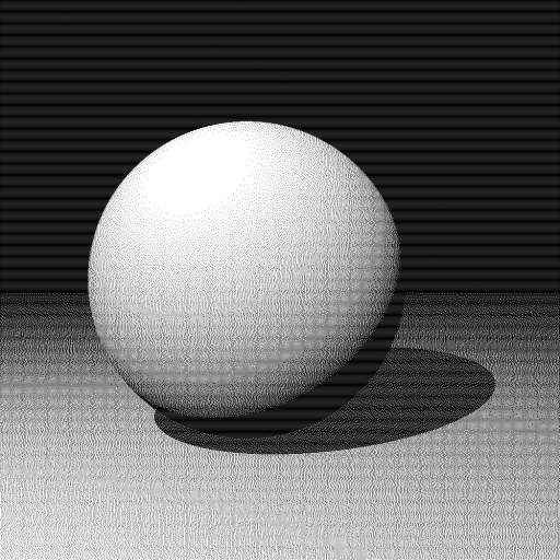 FSD Raytraced Sphere #1